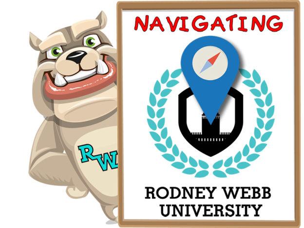 Rodney Webb Management: Navigating the University course image