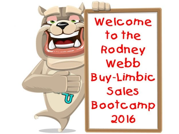 Rodney Webb Buy-Limbic Sales Bootcamp 2016 course image