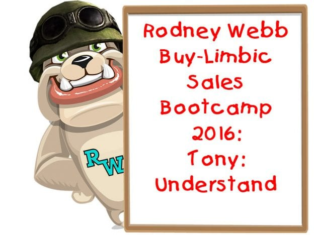 Rodney Webb Bootcamp 2016 5: Tony: Understand course image