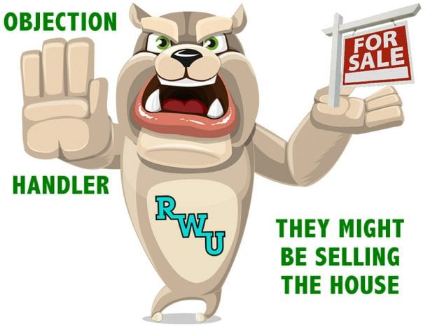Rodney Webb Objection Handler  8: They Might be Selling the House course image