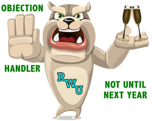 Rodney Webb Objection Handler  9: Not Until Next Year course image