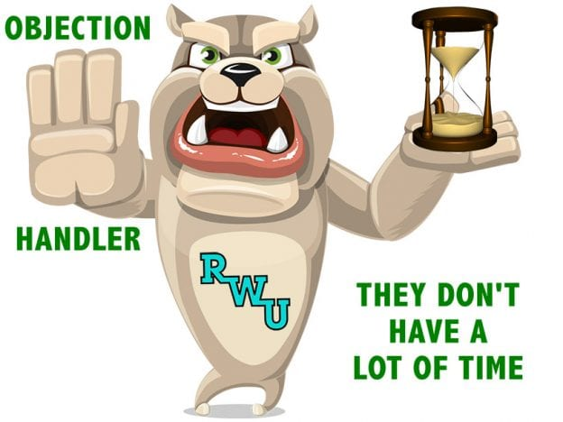 Rodney Webb Objection Handler 11: They Don't Have a Lot of Time course image
