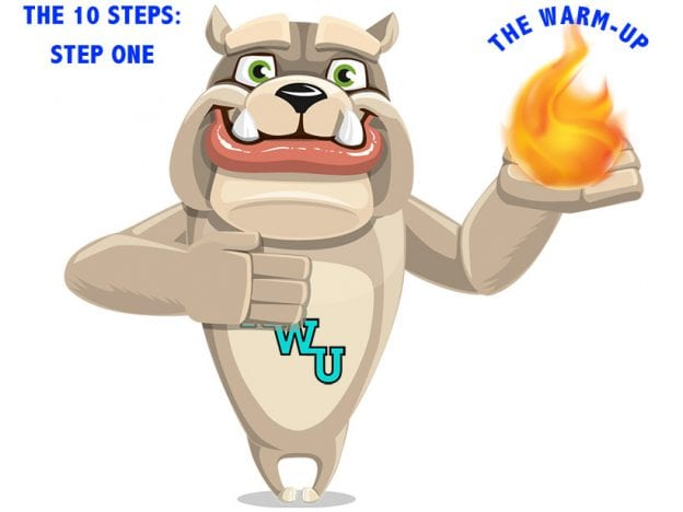 Rodney Webb the Ten Steps: Step 1: The Warm Up course image