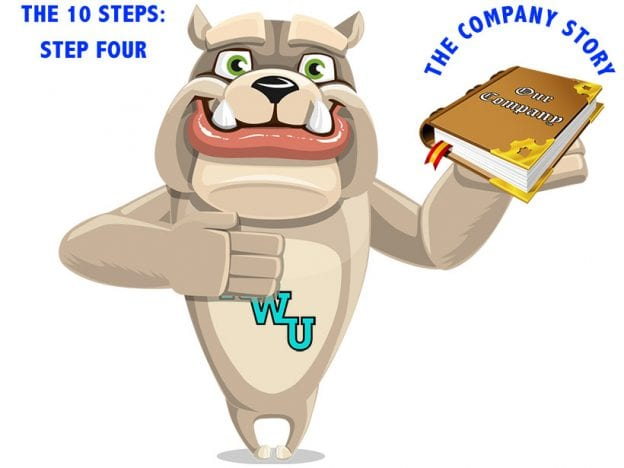 Rodney Webb the Ten Steps: Step 4: The Company Story course image