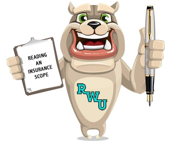 Rodney Webb Insurance: Reading a Scope: Introduction to Insurance Paperwork course image