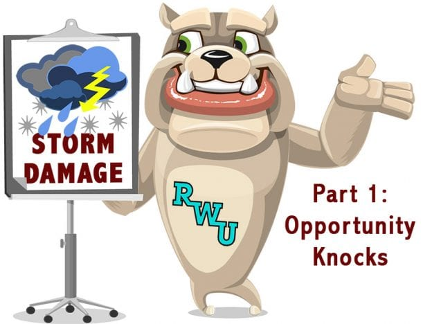 Rodney Webb Insurance: Storm Damage: Part 1: Opportunity Knocks course image