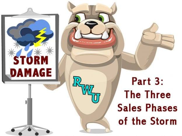 Rodney Webb Insurance: Storm Damage: Part 3: The Three Sales Phases of the Storm course image