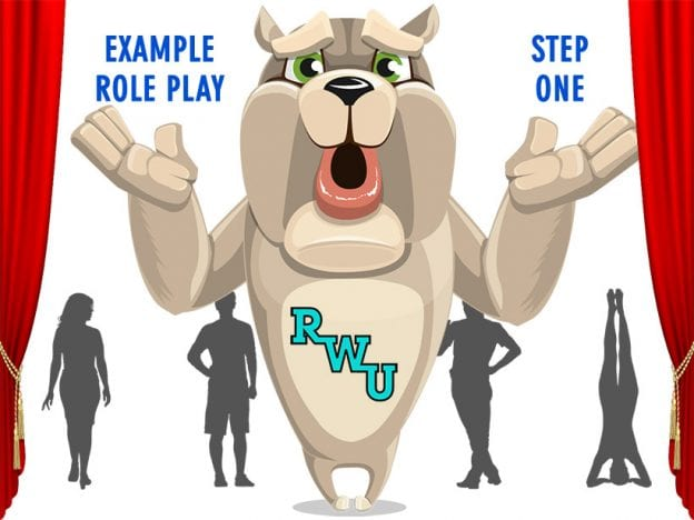 Body Language: Example Role Play: Step 1 course image