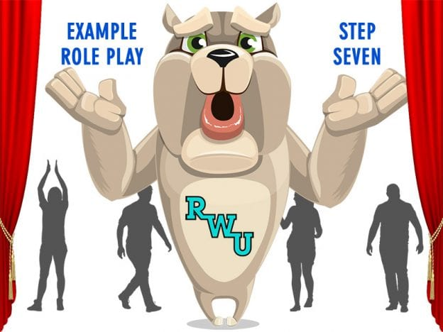 Body Language: Example Role Play: Step 7 course image