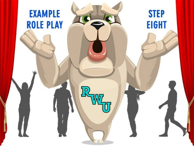Body Language: Example Role Play: Step 8 course image