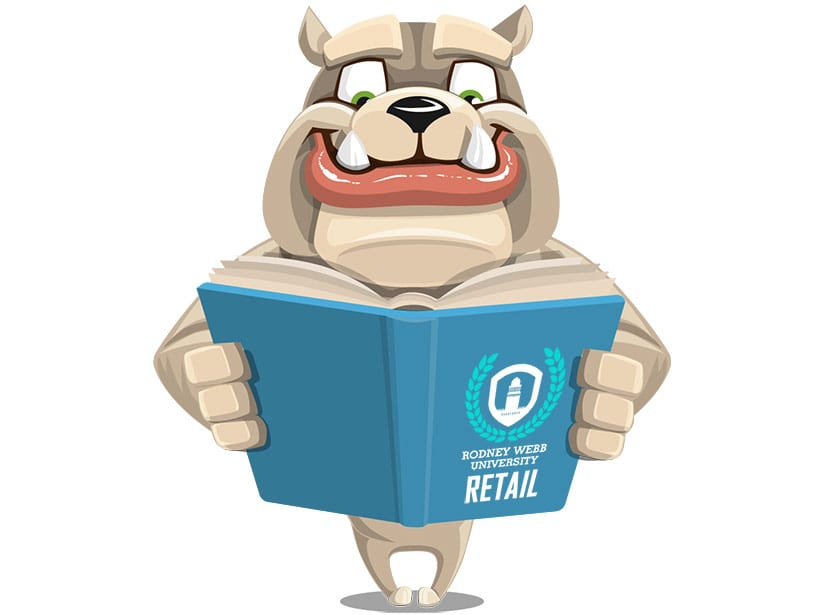 Rodney Webb Student Training Guide: Retail Curriculum