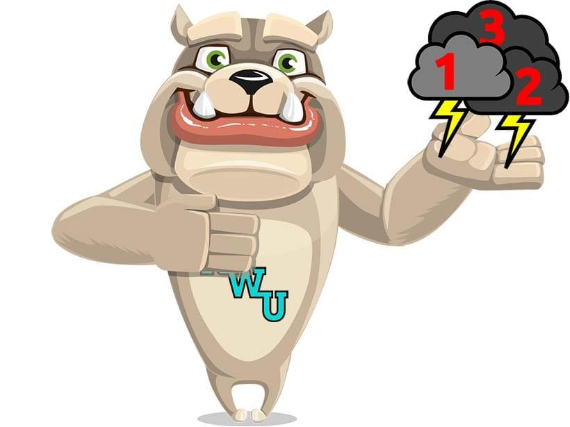 Rodney Webb Knocking Three Phases of the Storm