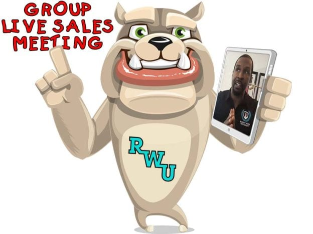 Rodney Webb Live Sales Meeting: June 2019 course image