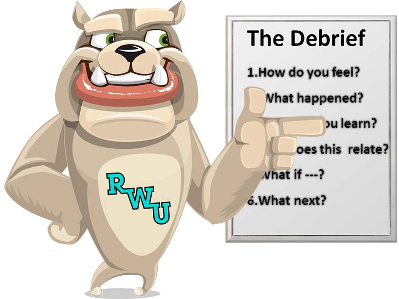 Rodney Webb How to Debrief